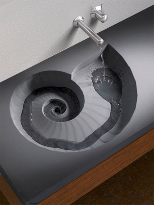 The Ammonite Sink by Caselton