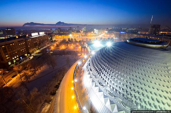 Вид с крыши оперного театра