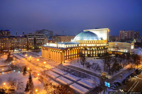 Новосибирский государственный театр оперы и балета. Самое большое театральное здание России