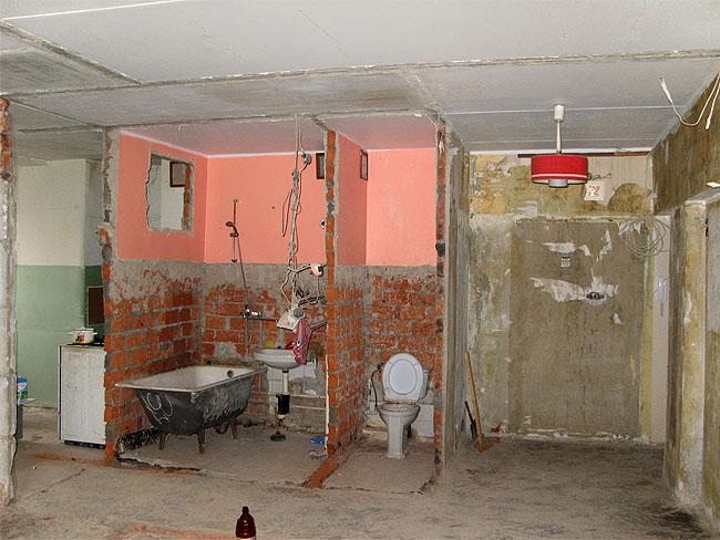 Проект перепланировки для 2х комнатной хрущёвки в