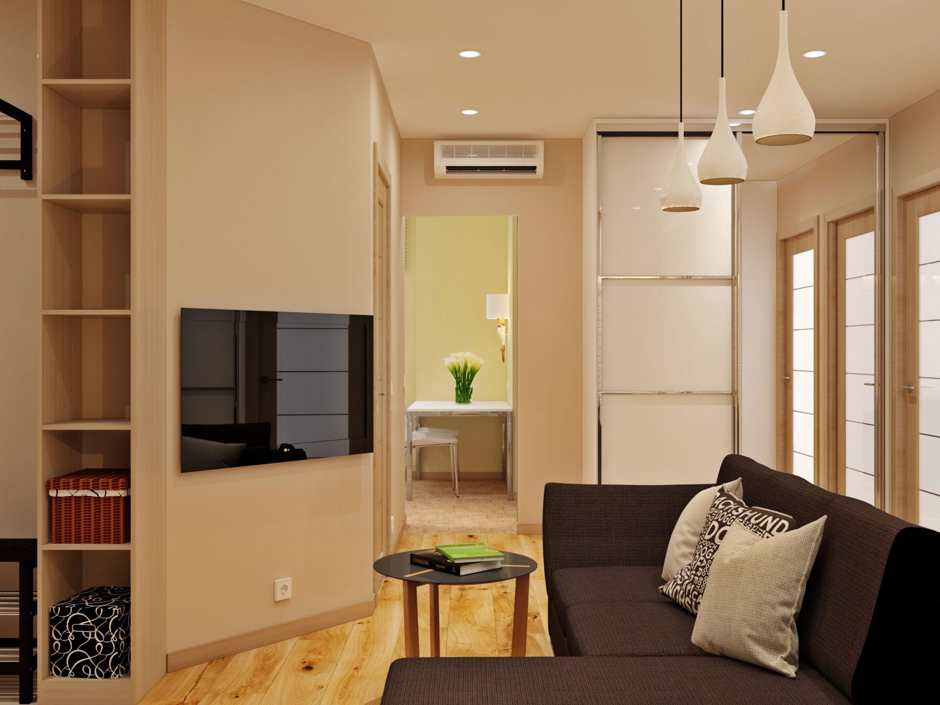Дизайн квартир 53 кв.м фото