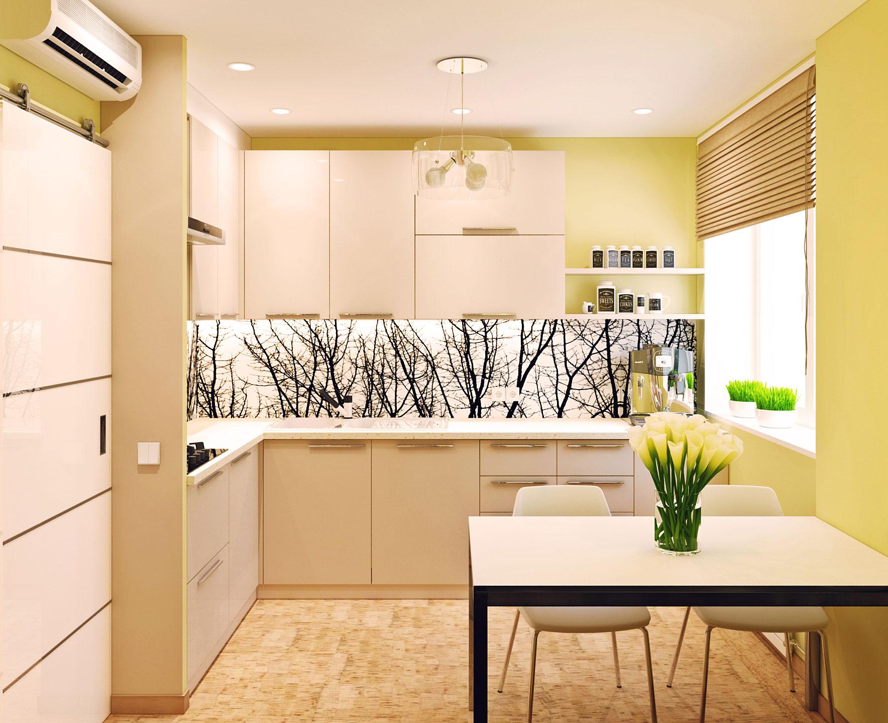 Квартира 53 кв м дизайн интерьера